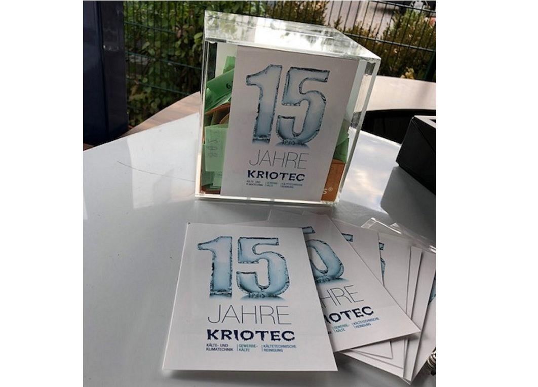 KRIOTEC feiert zum Jubiläum ein Sommerfest